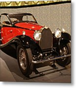 1932 Bugatti - Featured In 'comfortable Art' Group Metal Print