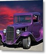 1932 Ford Coupe 'people Eater' Metal Print