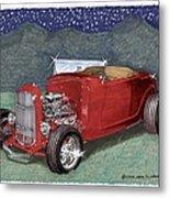 1932 Ford High Boy Metal Print