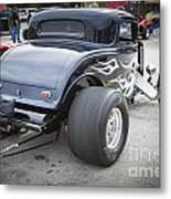 1932 Ford Highboy Back View Classic Car Automobile In Color  310 Metal Print