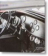 1932 Ford Highboy Dashboard Car Automobile In Color  3108.02 Metal Print