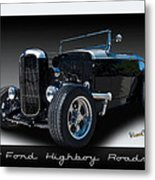 1932 Ford Highboy Roadster Metal Print