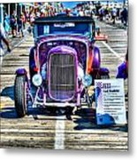 1932 Ford Roadster Front Metal Print
