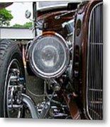 1932 Ford Roadster Head Lamp View Metal Print