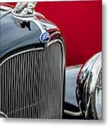 1932 Ford V8 Grille - Hood Ornament Metal Print