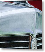 1932 Marmon Sixteen Lebaron Victoria Coupe Hood Ornament - Grille Emblem - 1904c Metal Print
