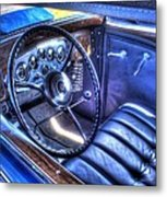 1932 Packard V12 Convertible Coupe-roadster V2 Metal Print