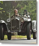 1933 Alfa Romeo 8c Corto Touring Spyder Metal Print by Jill Reger