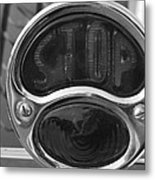 1933 Ford 3-window Coupe Tail Light Metal Print