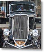 1933 Ford Two Door Sedan Front View Metal Print