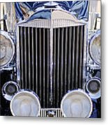 1933 Packard 12 Convertible Coupe Grille Metal Print