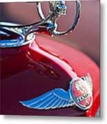 1933 Pontiac Hood Ornament 3 Metal Print