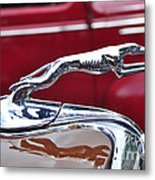 1934 Ford 6 Wheel Equip Hood Ornament Metal Print