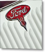 1934 Ford Emblem Metal Print