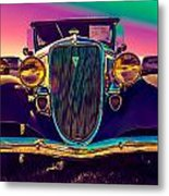 1934 Ford Front Metal Print