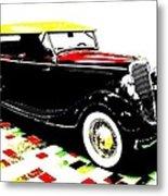 1934 Ford Phaeton V8  Metal Print