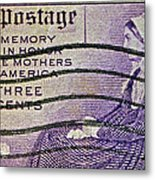1934 Mothers Of America Three-cent Stamp Metal Print