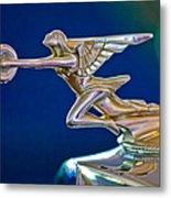 1934 Packard 8 1101 Sedan Hood Ornament Metal Print