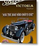 1934 Packard Metal Print