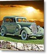 1935 Buick 61 Sedan Metal Print