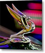 1935 Chevrolet Hood Ornament 2 Metal Print