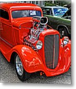 1935 Chevy Coupe Metal Print