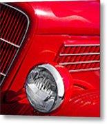 1935 Ford Humpback Metal Print by David Patterson