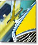 1935 Hudson Hood Ornament Metal Print