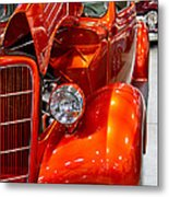 1935 Orange Ford-front View Metal Print