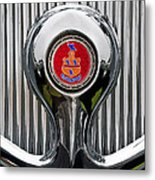 1935 Pierce-arrow 845 Coupe Emblem Metal Print