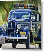 1935 Plymouth Taxi Cab Metal Print