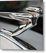 1936 Auburn Super Charger Flying Lady Hood Ornament Metal Print