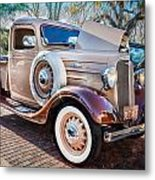 1936 Chevrolet Pick Up Truck Painted    Metal Print