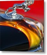 1936 Dodge Ram Hood Ornament 1 Metal Print