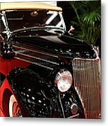 1936 Ford Deluxe Roadster - 5d19963 Metal Print