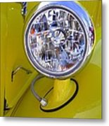 1936 Ford Pickup Headlamp Metal Print