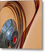 1936 Packard Spare Tire  Metal Print