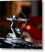 1936 Pierce Arrow Hood Ornament Metal Print