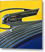 1936 Pontiac Hood Ornament 2 Metal Print