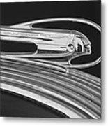 1936 Pontiac Hood Ornament 5 Metal Print by Jill Reger
