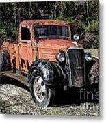 1937 Chevy Wrecker Metal Print