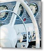 1937 Cord 812 Phaeton Dashboard Instruments Metal Print