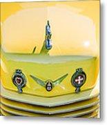 1937 Cord 812 Phaeton Grille Emblems Metal Print