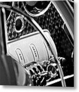 1937 Cord 812 Phaeton Steering Wheel Metal Print