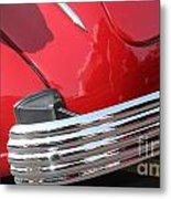 1937 Desoto Chrome Bumper-7249 Metal Print