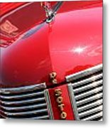 1937 Desoto Front Grill Metal Print