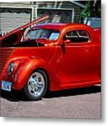 1937 Ford Coupe Metal Print