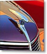 1937 Ford Hood Ornament 2 Metal Print