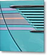 1937 Ford Sedan Slantback Door Detail Metal Print