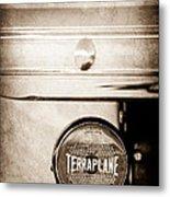1937 Hudson Terraplane Pickup Truck Taillight Emblem Metal Print